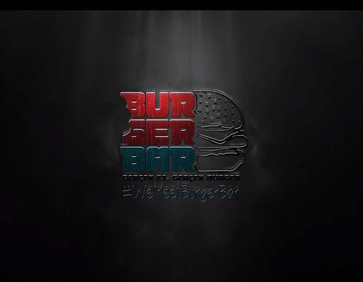 Burger Bar Logo Animasyonu