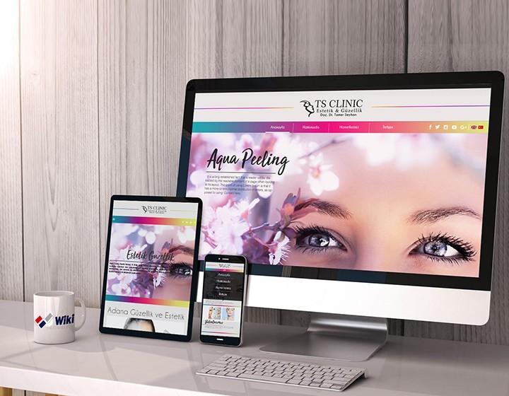 TS Klinik Estetik Güzellik Web Tasarım